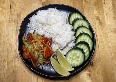 Thum Mak Hoong (Papaya Salad)
